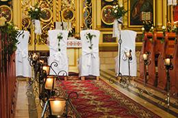 dekoracje kościołów olsztyn
